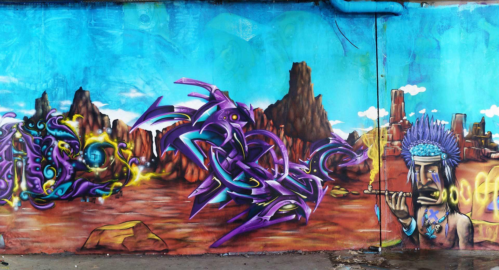 Spazm - Graffiti