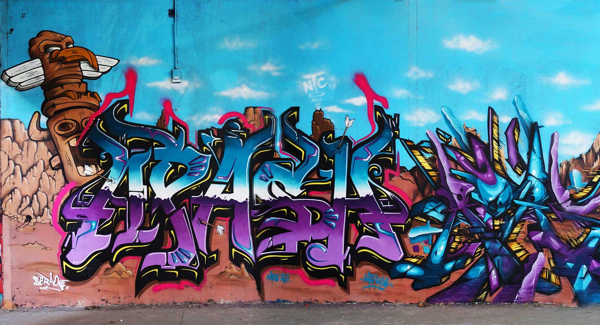 Sera - graffiti