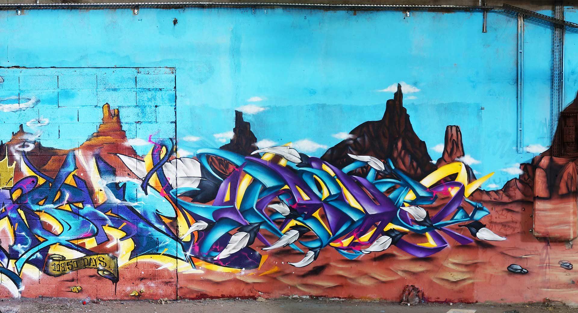 Graffiti Toulouse