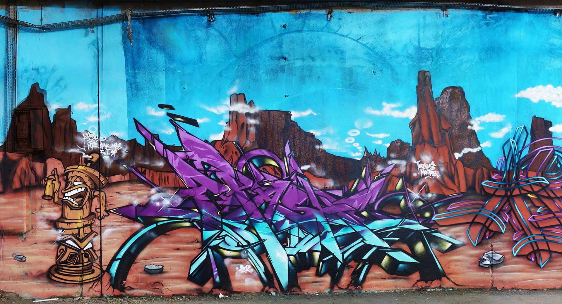 Apashe - Graffiti - Toulouse