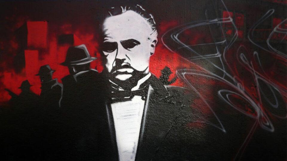 Le Parrain Graffiti, the god father street art