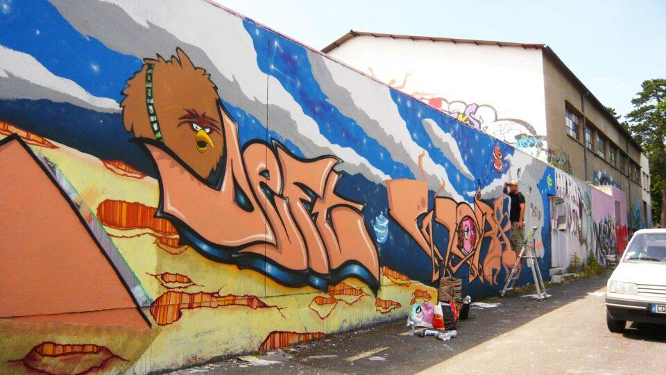 graffiti angry birds