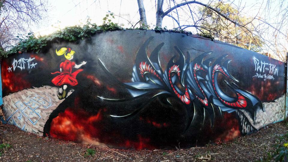 Korn Follow the leader graffiti