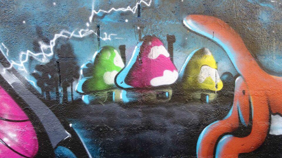 graffiti Schroumph