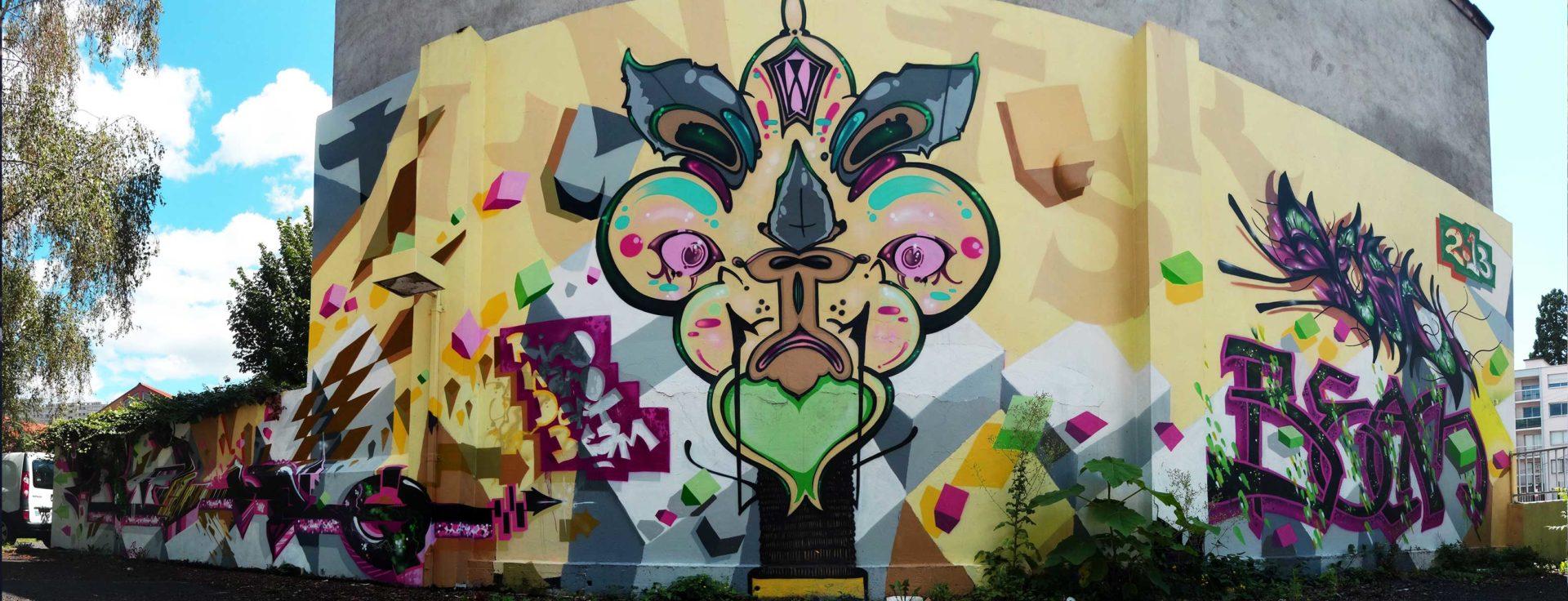waro_rino_beam_deft_clermont_ferrand_graffiti