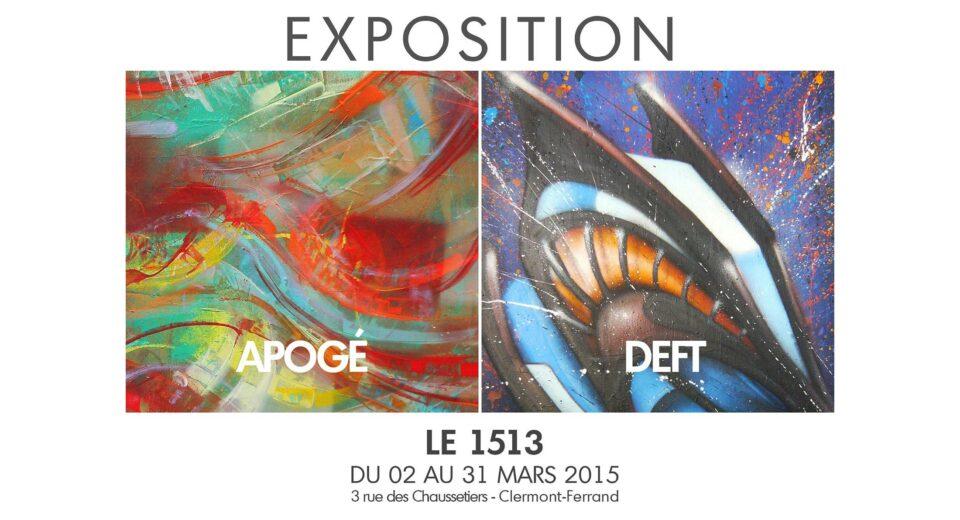 Exposition au 1513, Mars 2015