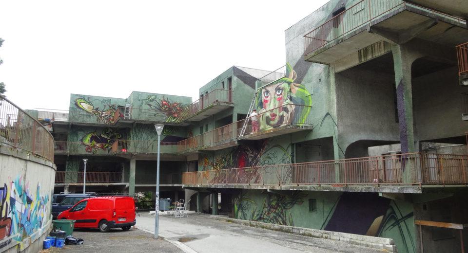 Graffiti Toulouse Spazm