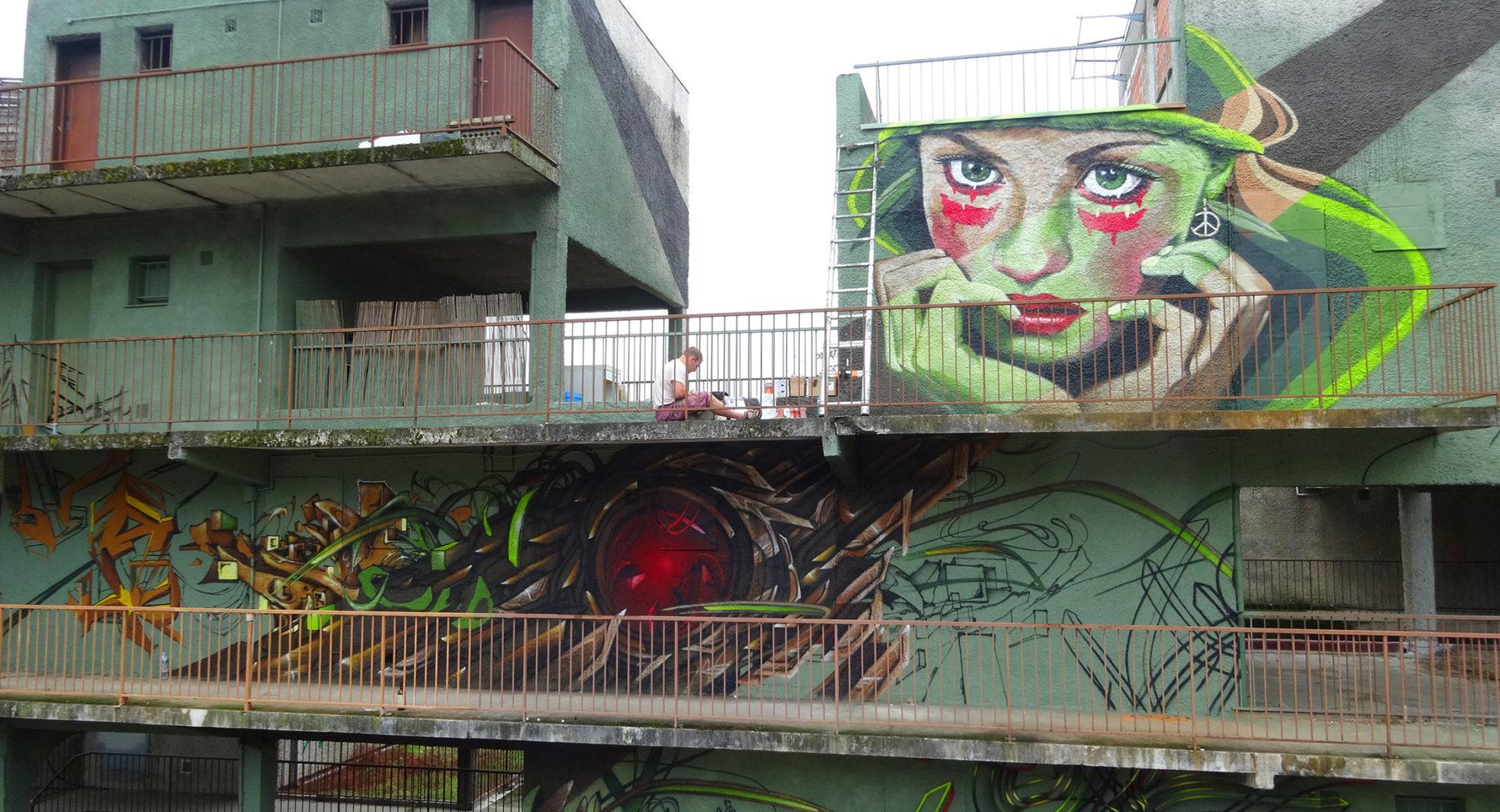 Spazm Graffiti Toulouse