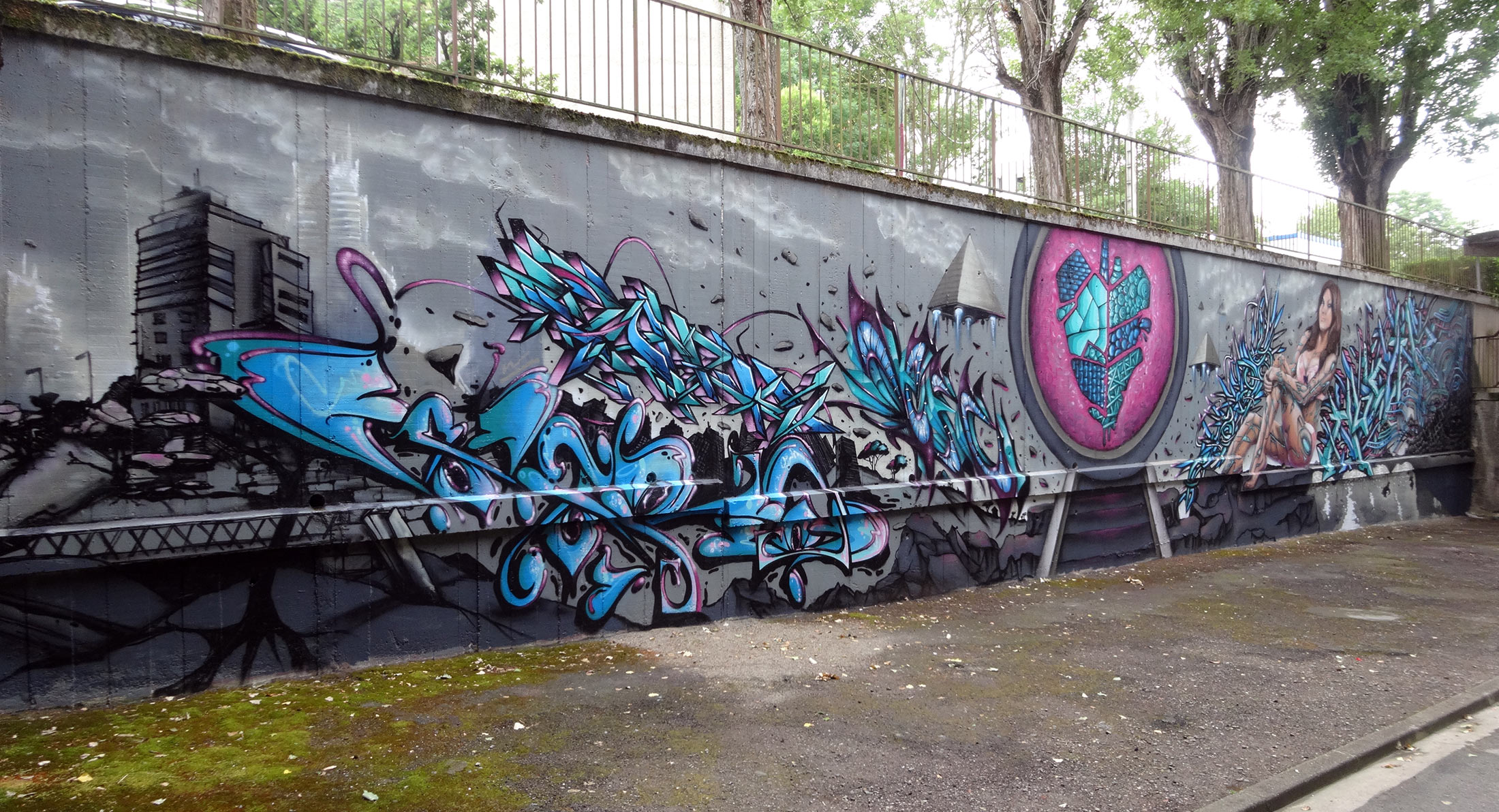 stargate Graffiti Toulouse, les floralies, Ntc, atria, stargate