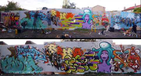 Fresque Touz - Graffiti