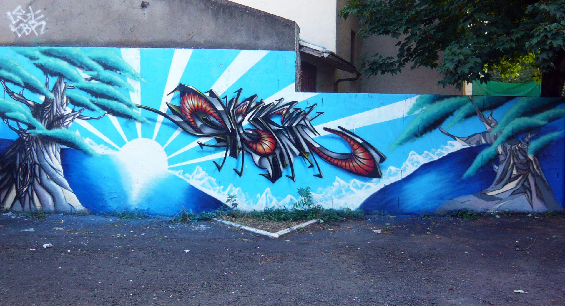 Deft & Epok - Japan Graff - Street Art