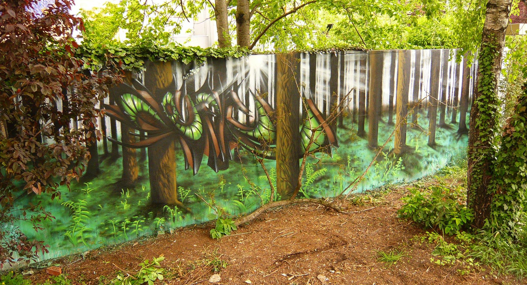 Epok & Deft - Deep Forest - Graffiti