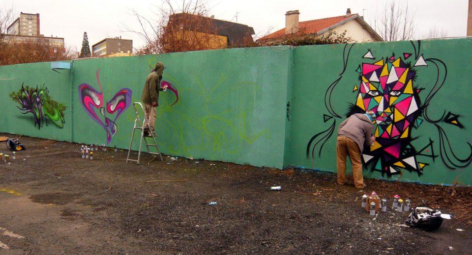 Deft, Waro & Glok  - Graffiti