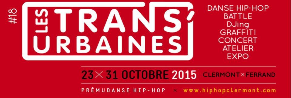 Festival Trans'Urbaines à Clermont-Ferrand, du 20 au 31 Octobre 2015