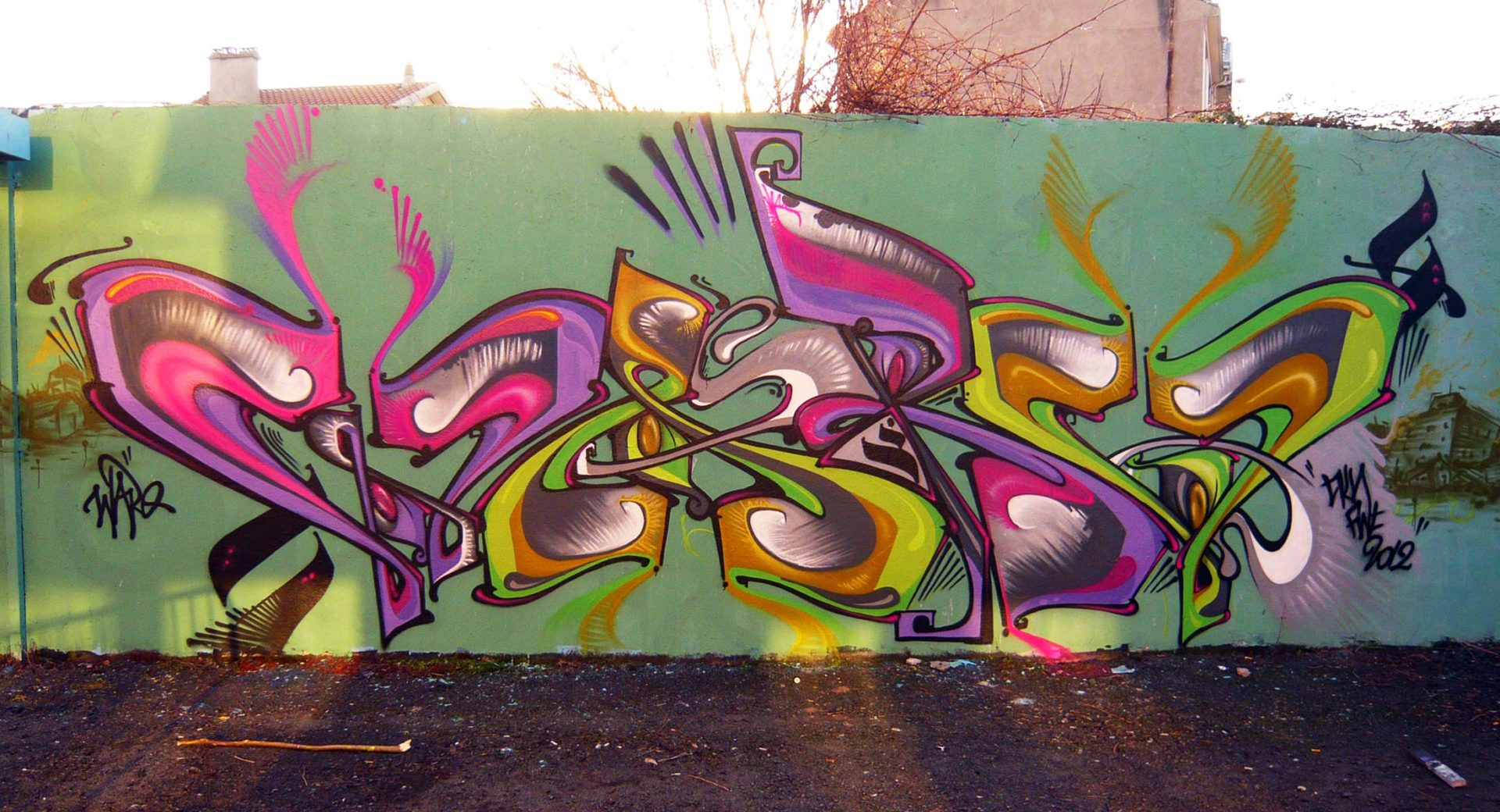Waro - Graffiti
