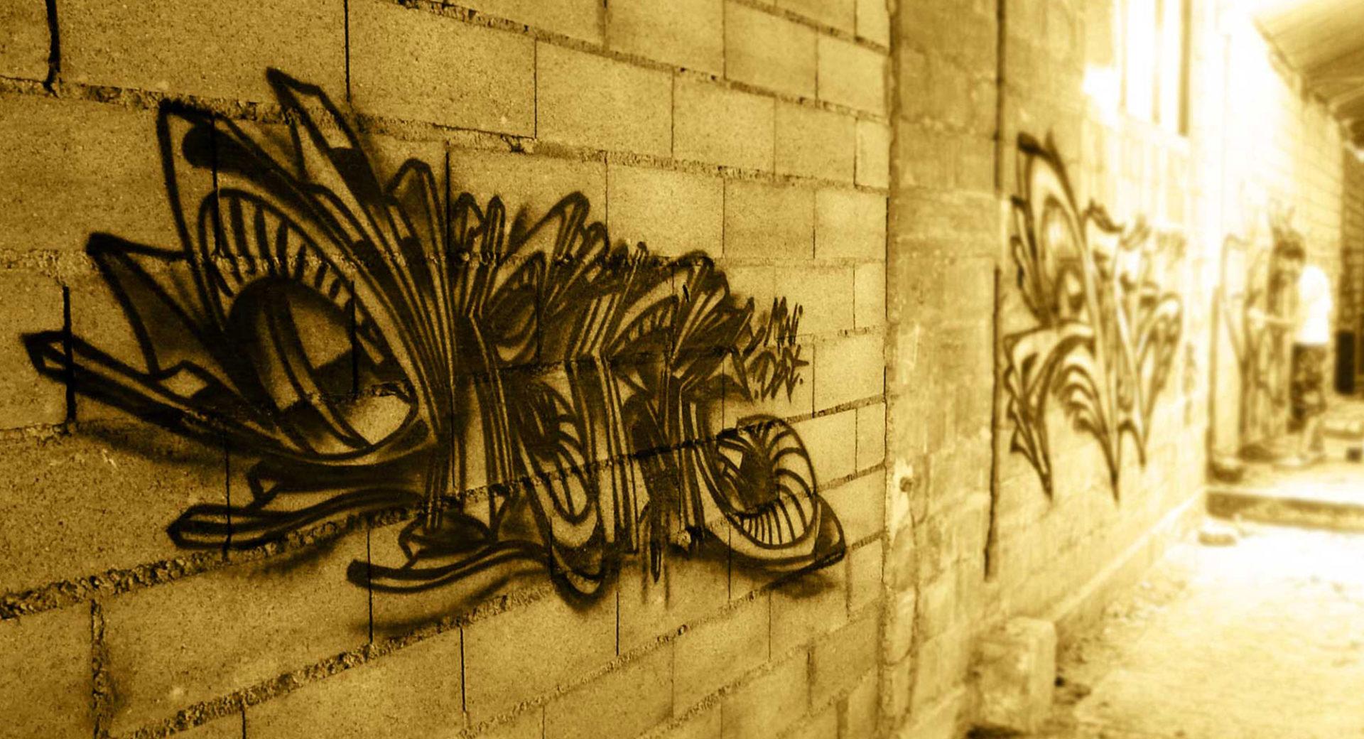 Mini Deft - Graffiti