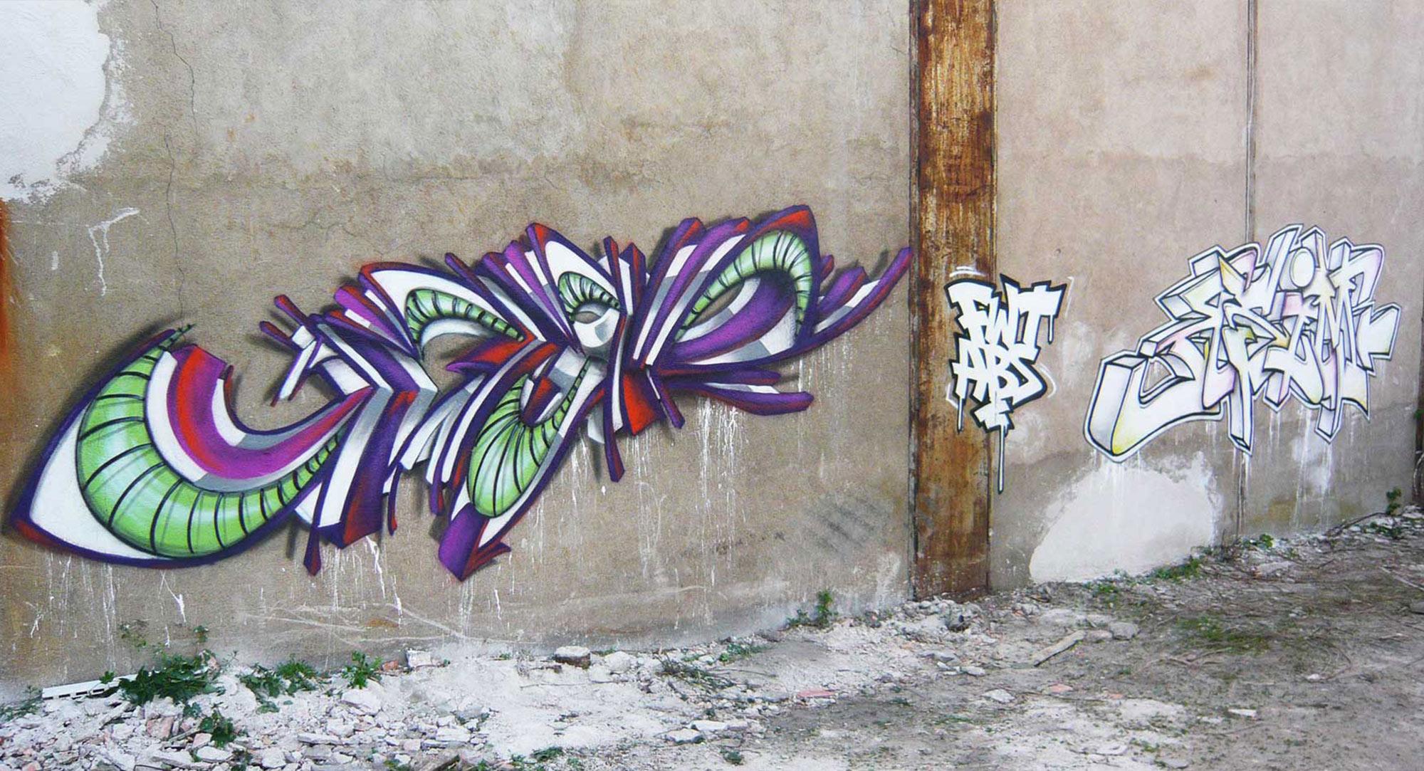 Deft & Miser  - Graffiti