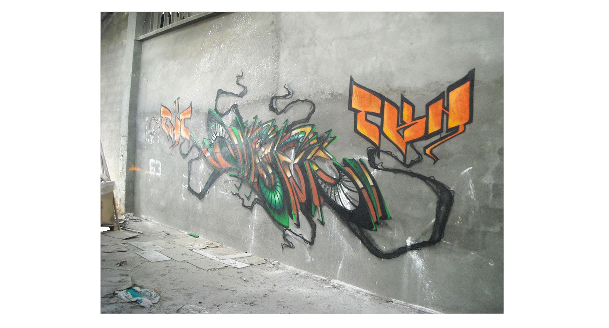 Deft - Graffiti - Pont Du Chateau
