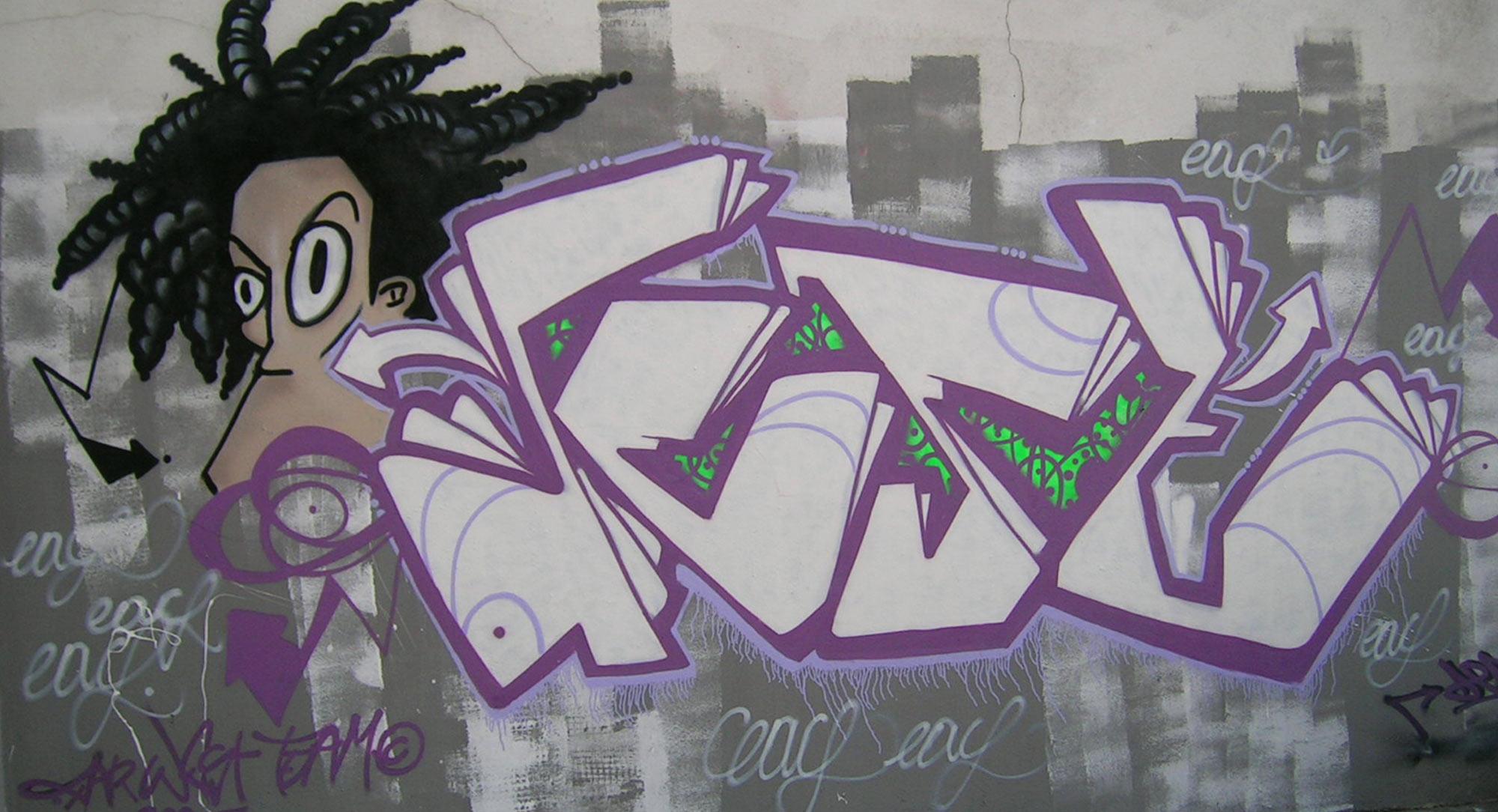 Deft - Graffiti - ENSACF - CLermont-Ferrand