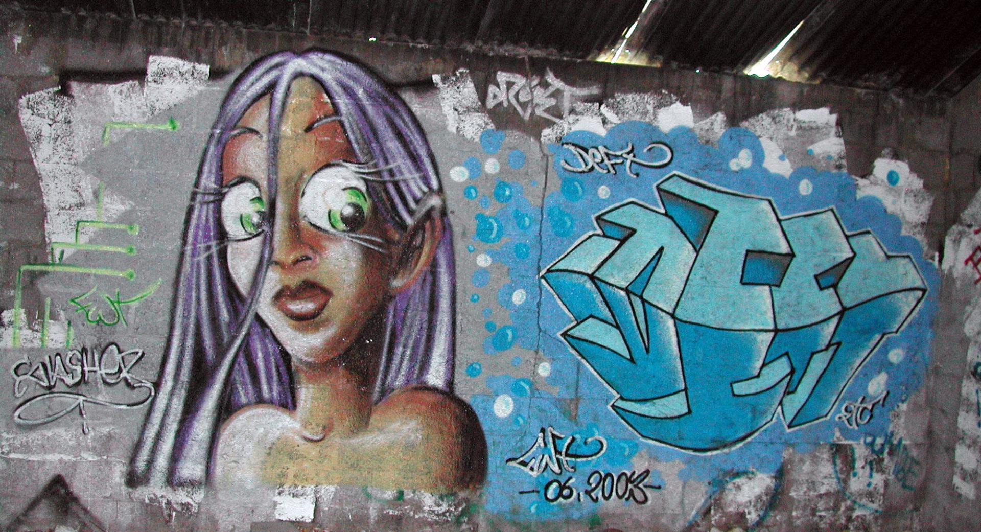 Slash & Deft - Graffiti