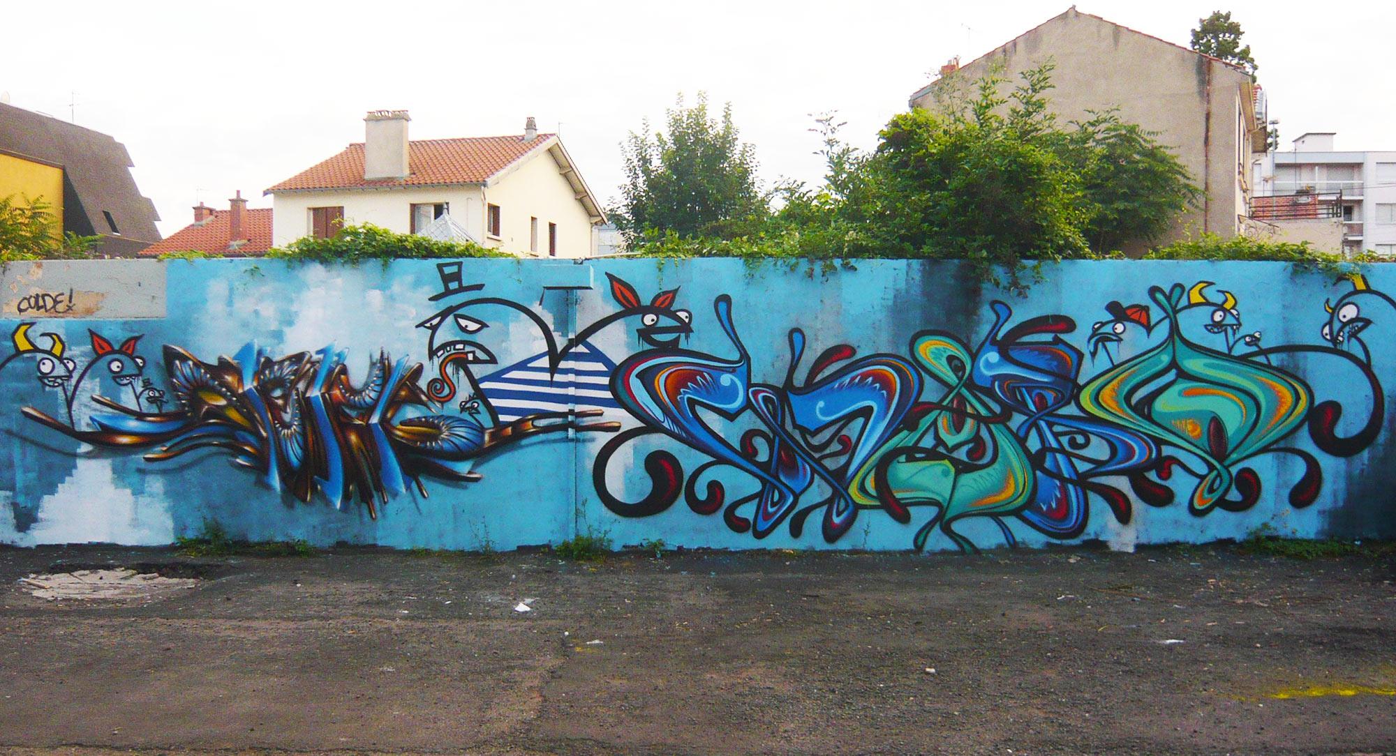 Deft & Waro - Graffiti