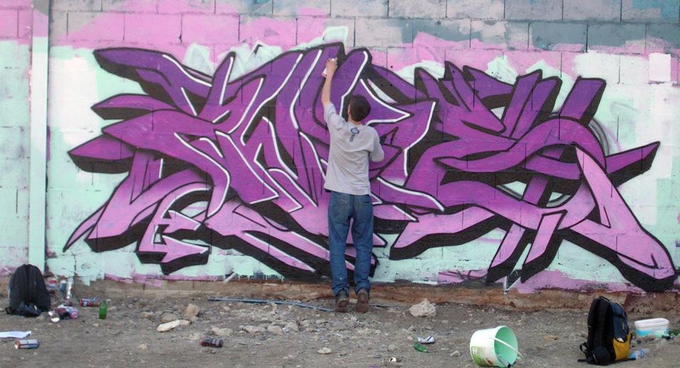 Awok - Graffiti - Brad Tout - Riom