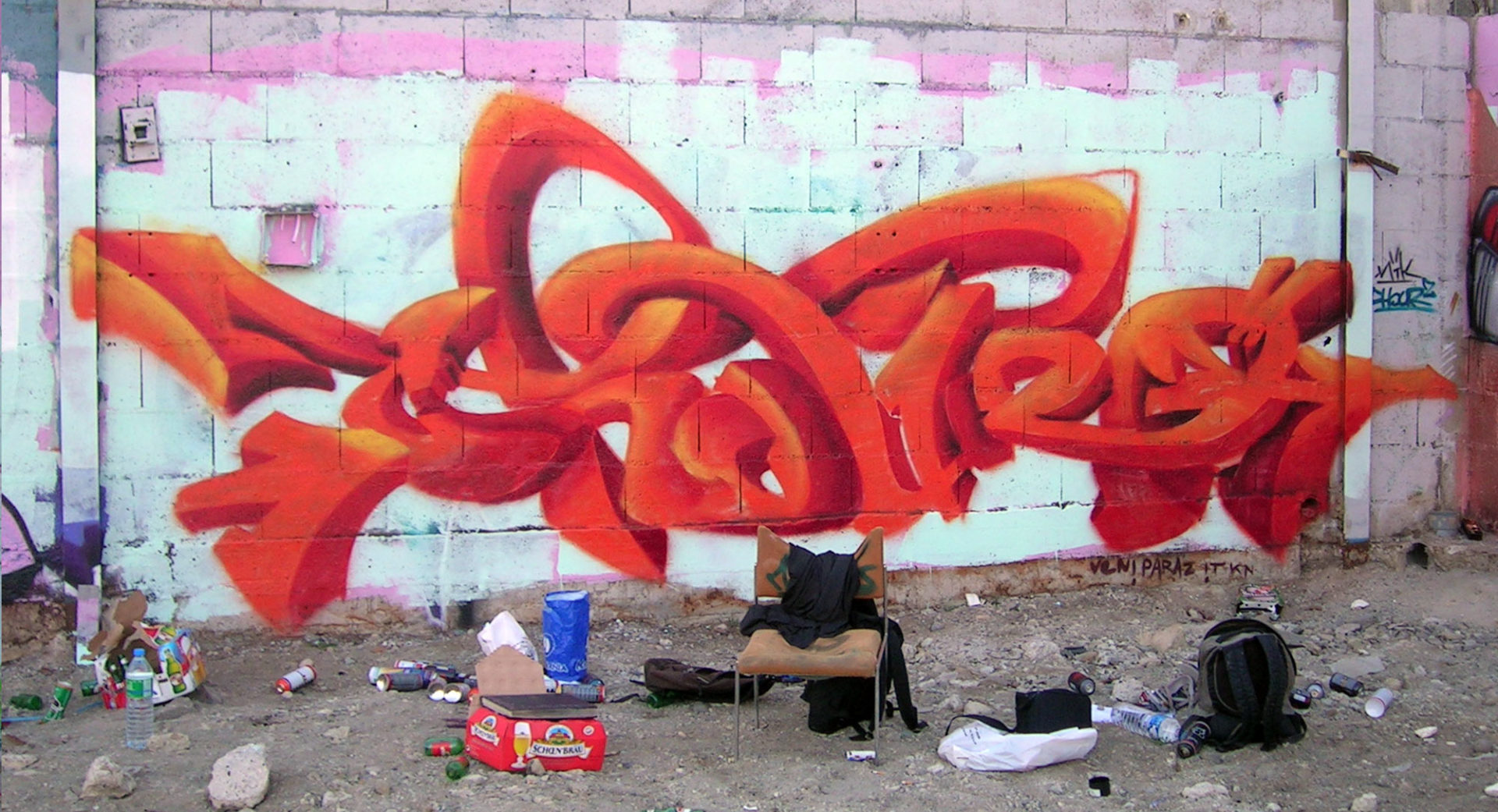 Chour2 - Graffiti - Brad Tout - Riom