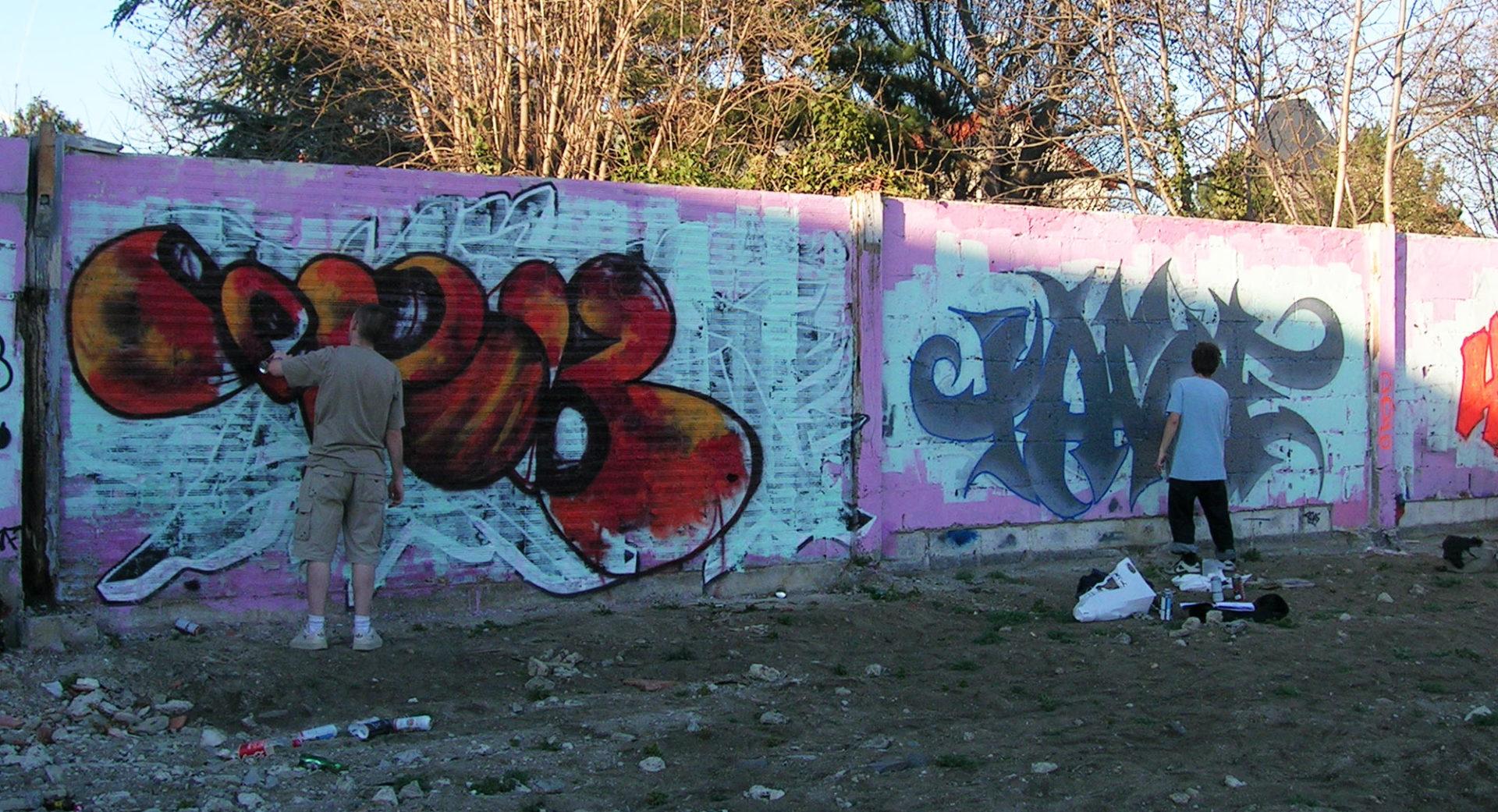 Epok & Tase - Graffiti - Brad Tout - Riom