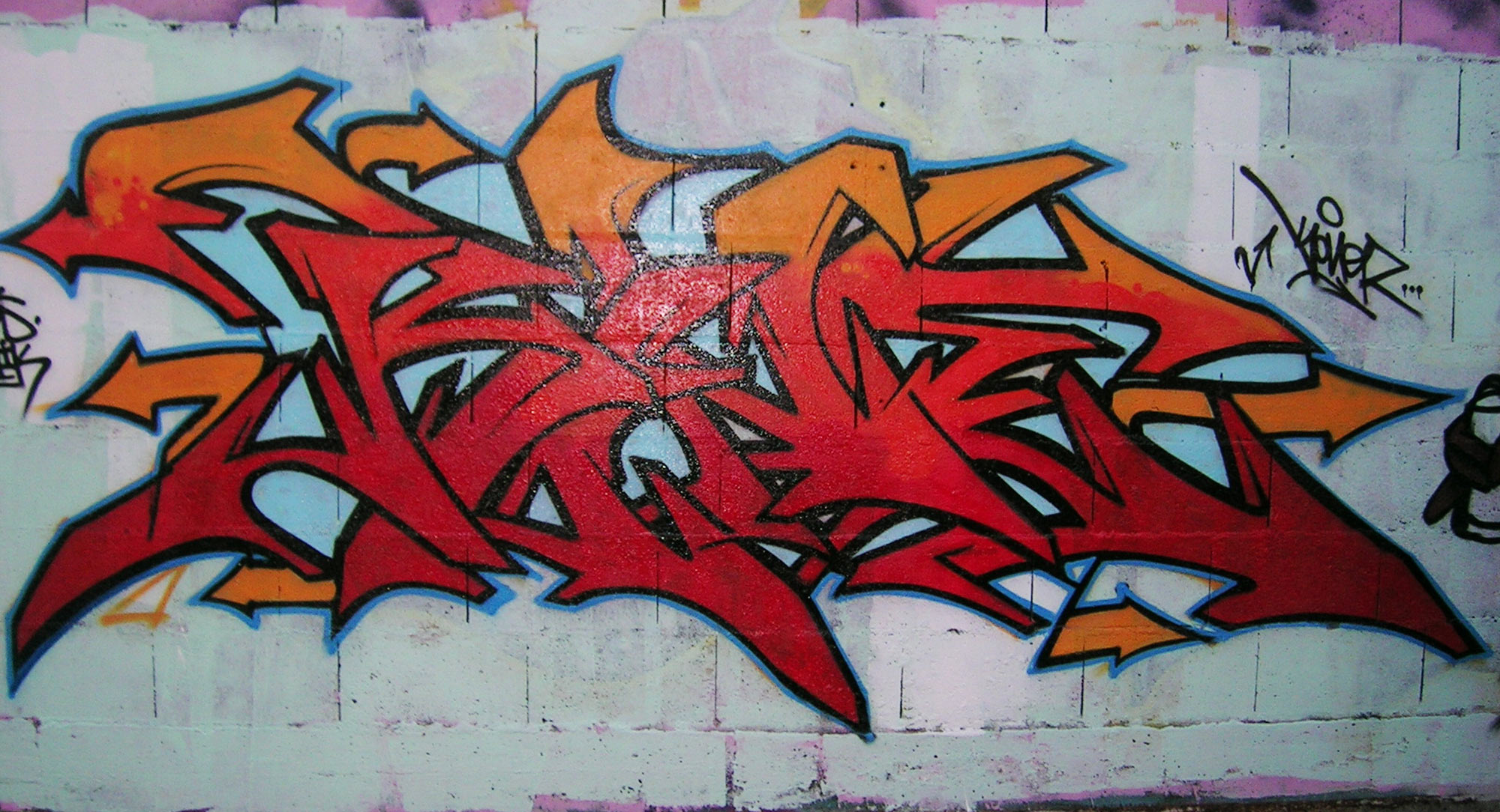 Koner - Graffiti - Brad Tout - Riom