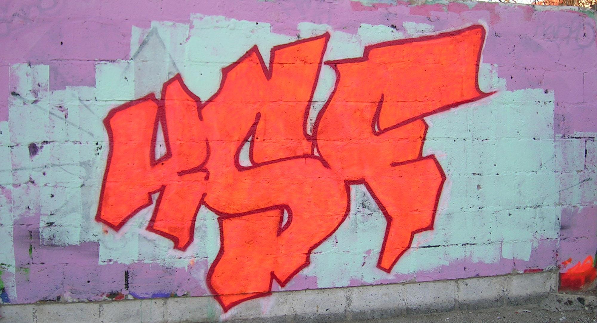 KSF - Graffiti - Brad Tout - Riom