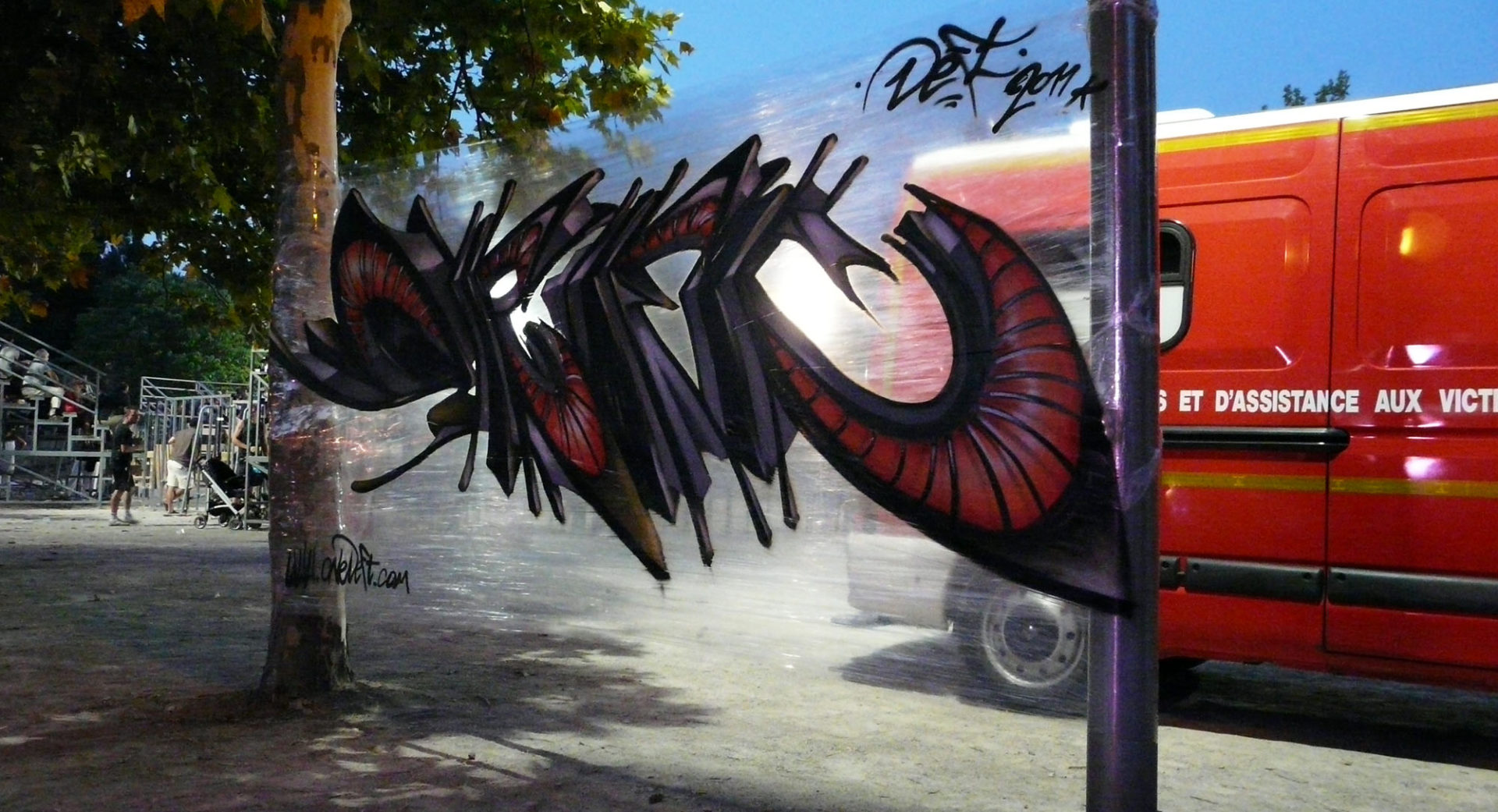 Deft- Saturargues - Street Art