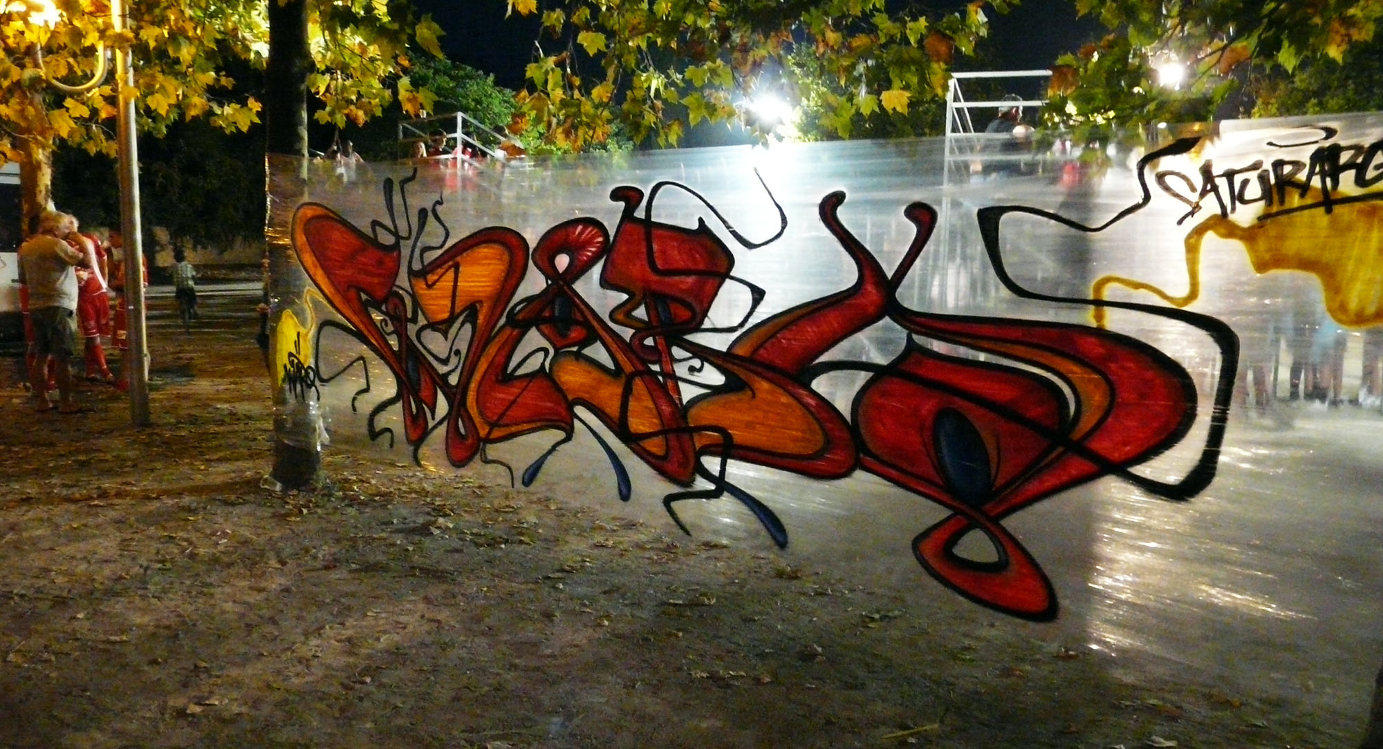 Waro - Saturargues - Graffiti