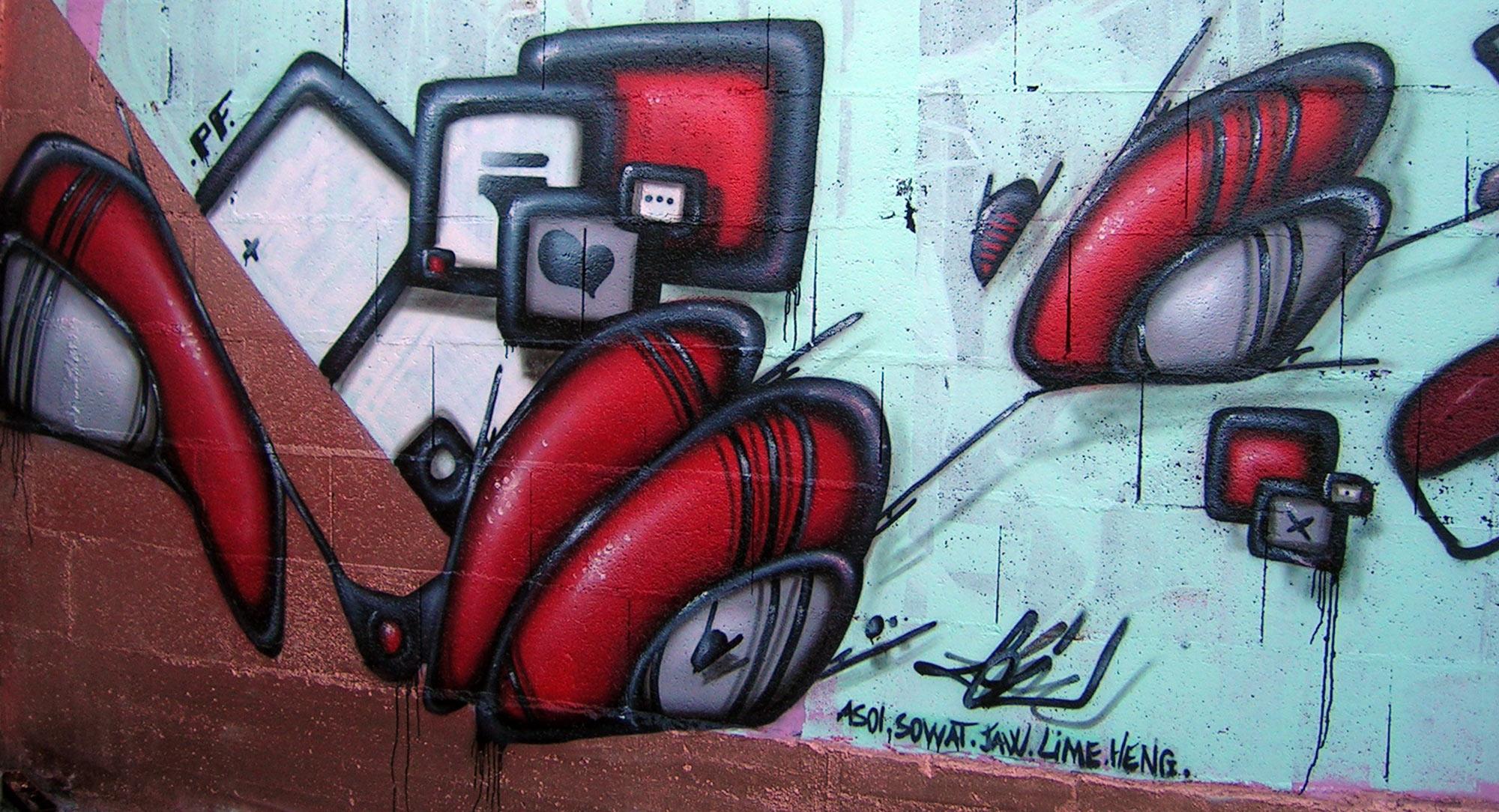 Slop - Graffiti - Brad Tout - Riom