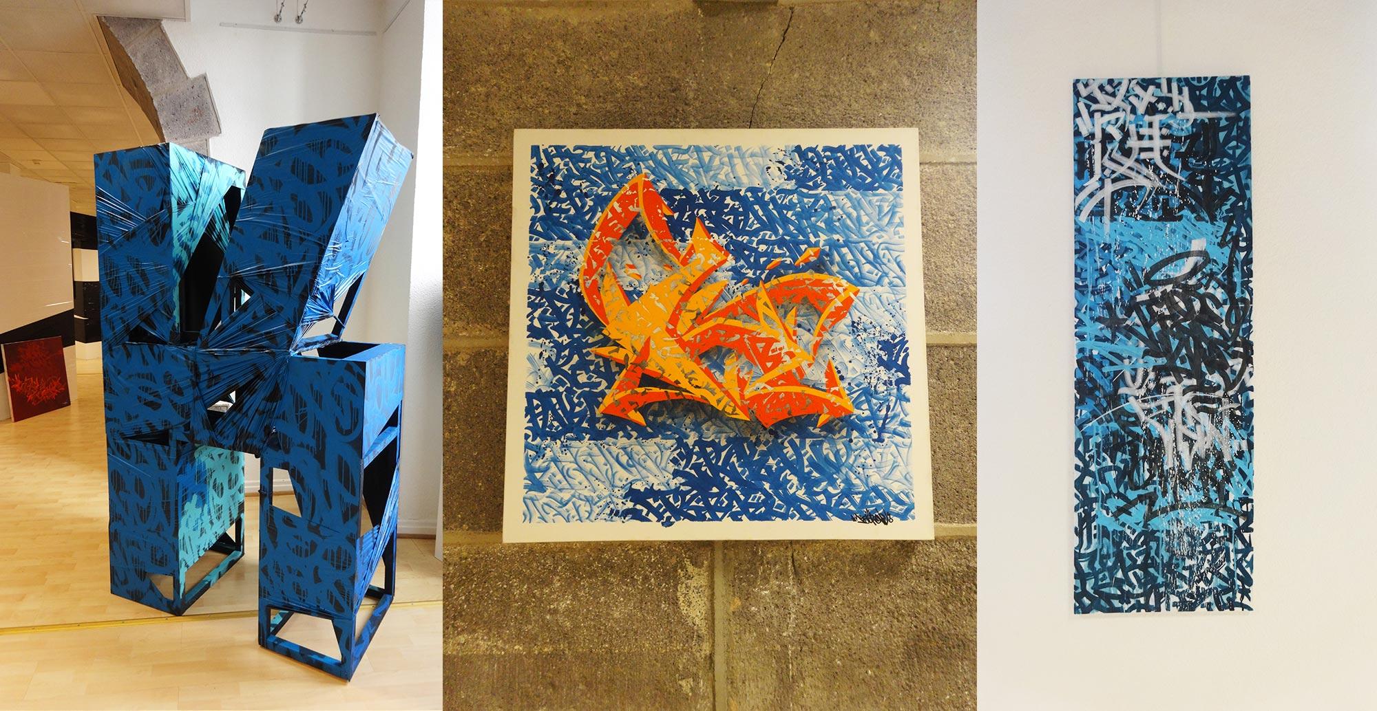 kaer - ENDtoEND - Exposition Camille Claudel  - Clermont Ferrand