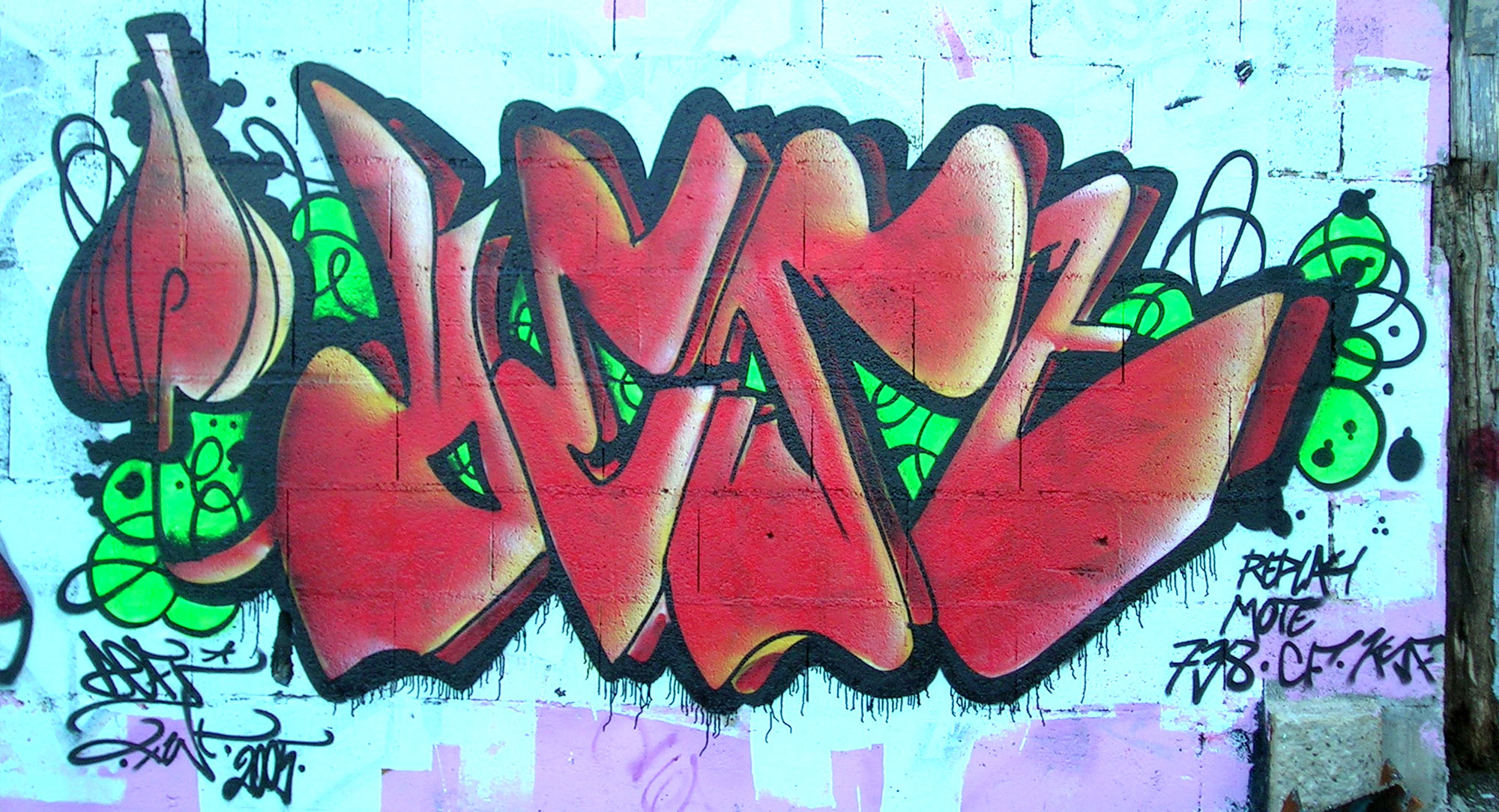 Deft - Graffiti - Brad Tout - Riom