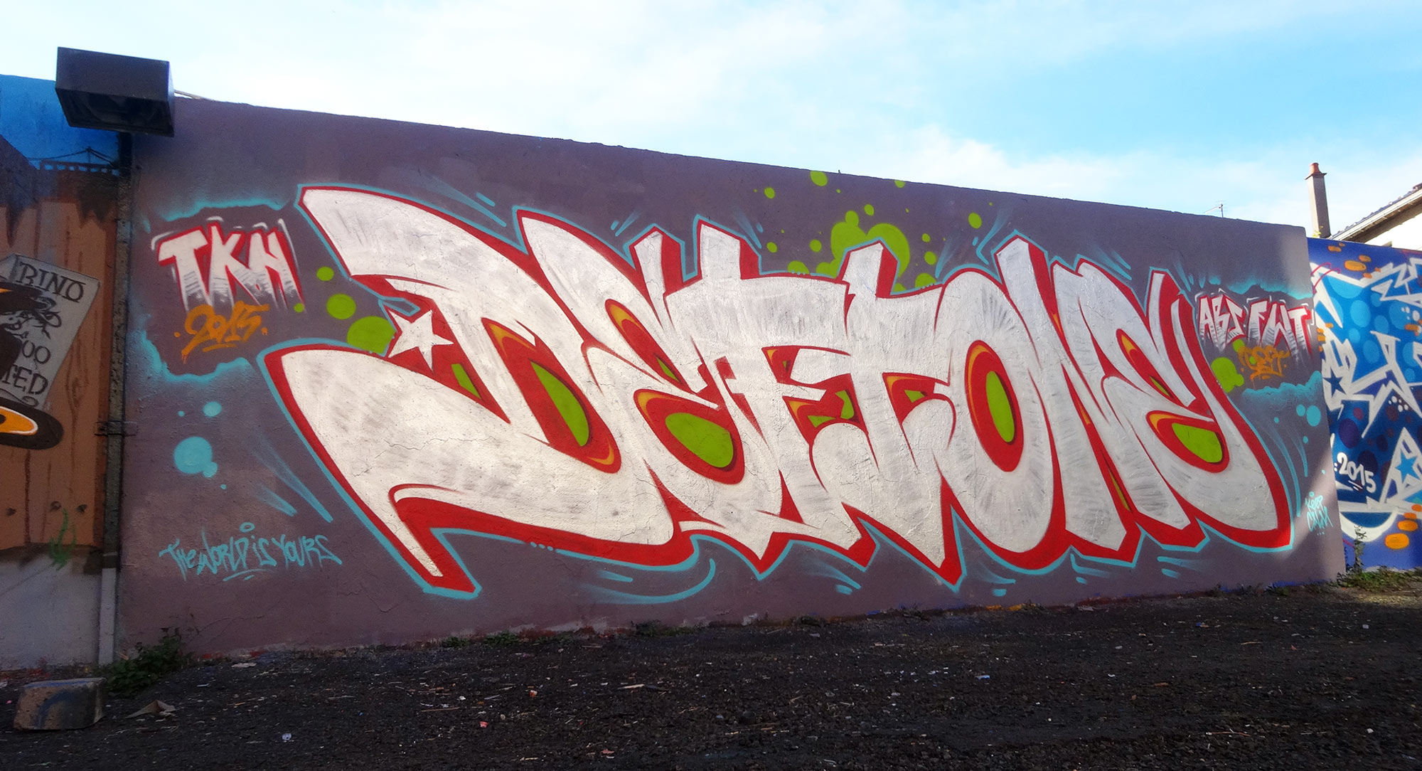 Deft - Graffiti - Chrome