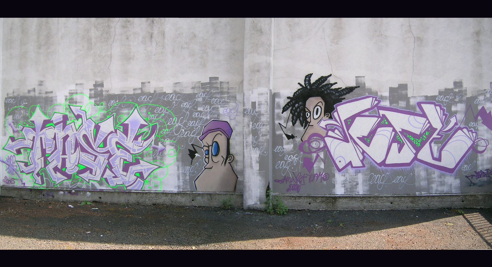 Tase & Deft - Graffiti - ENSACF - CLermont-Ferrand