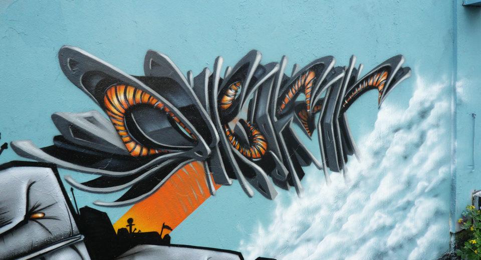 Deft - WaroGame - Graffiti