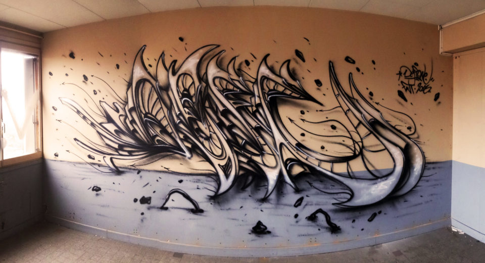 Deft - Tracé Direct - One Shot - Graffiti