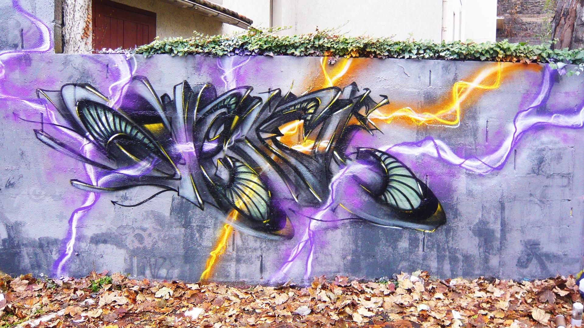 Deft - tracé direct - Graffiti