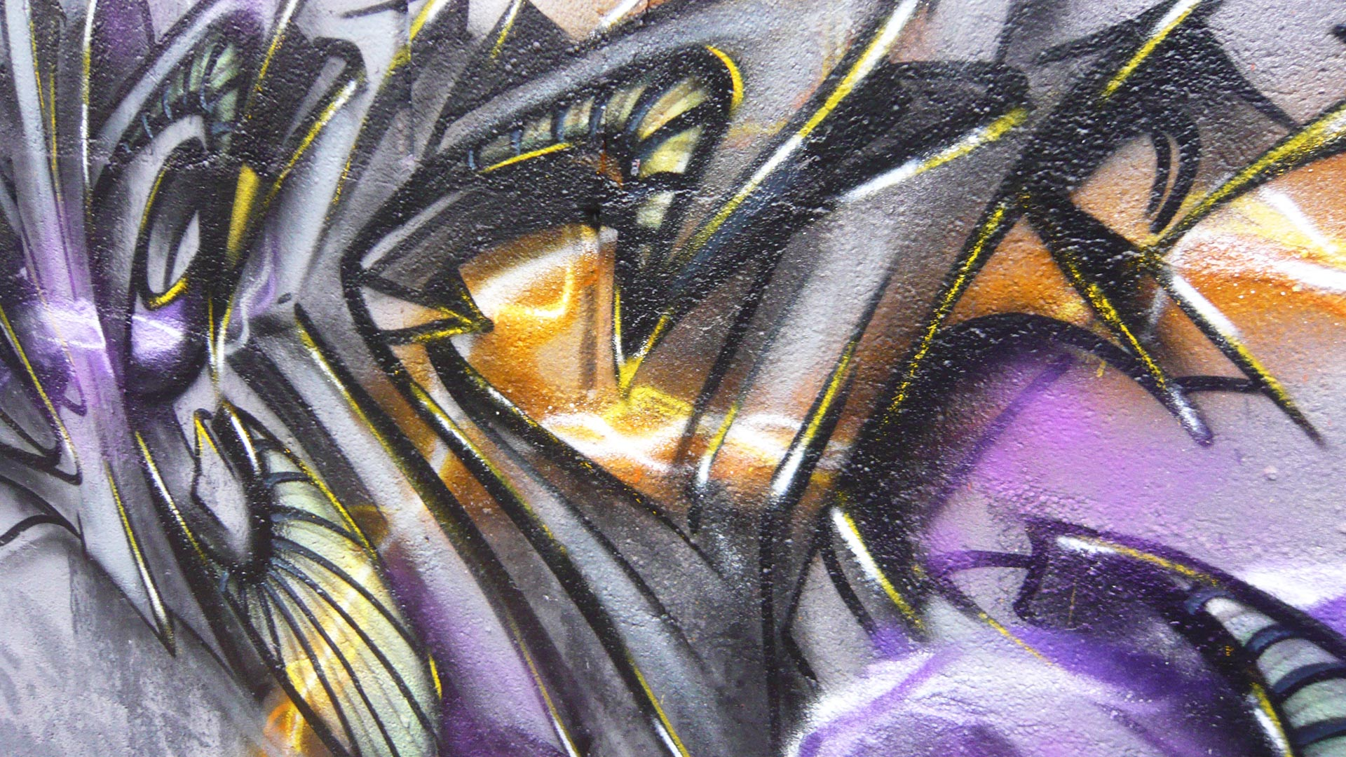 Deft - Détail - Graffiti
