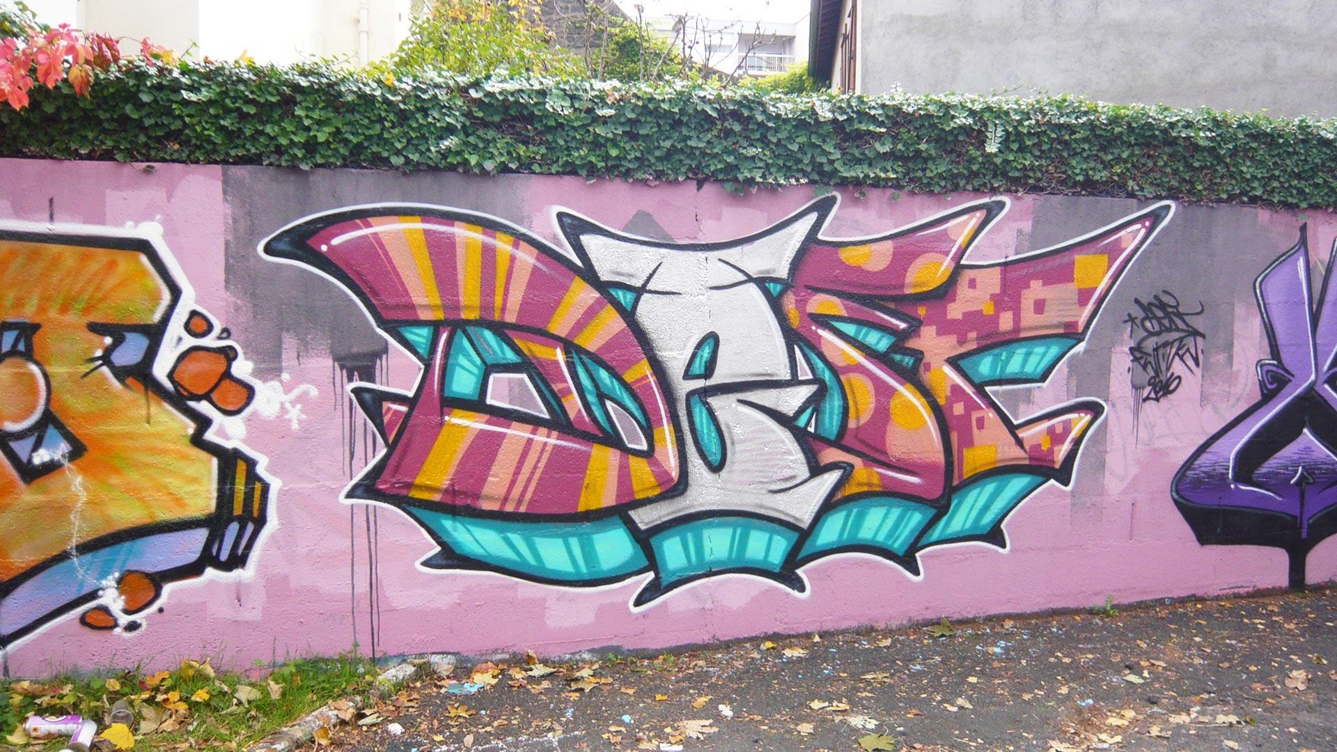 Deft - Graffiti - ENSACF
