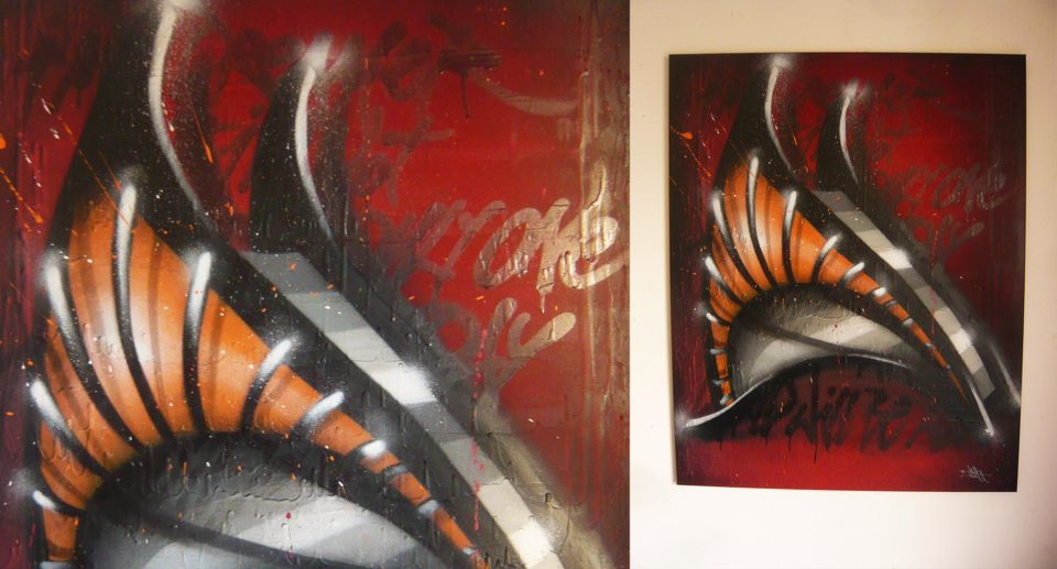Tableau 2 Serie D - Graffiti