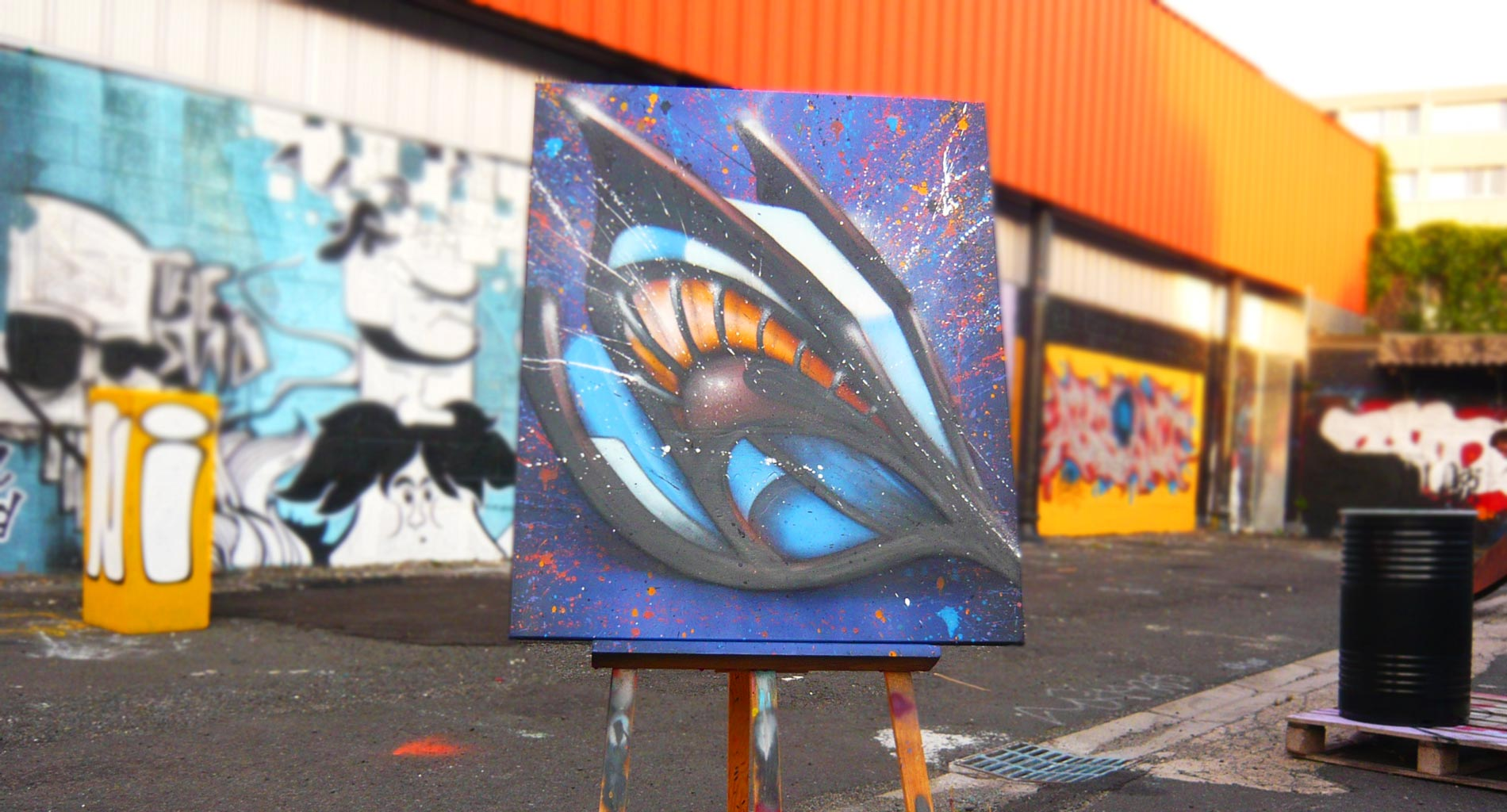Tableau 3 Serie D - Graffiti