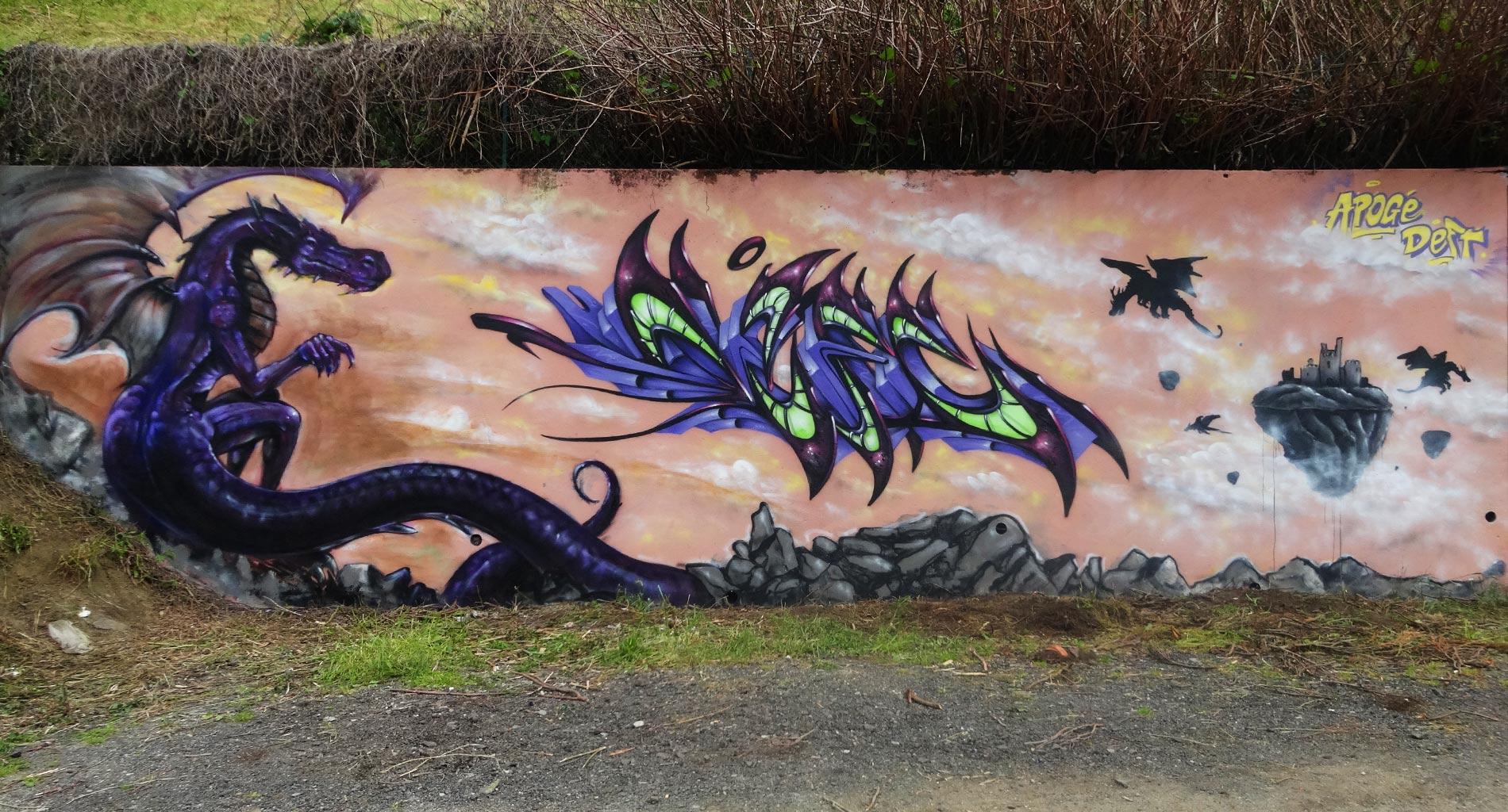 Apogé & Deft - Graffiti - La Glacière - Street Art - Clermont-Ferrand