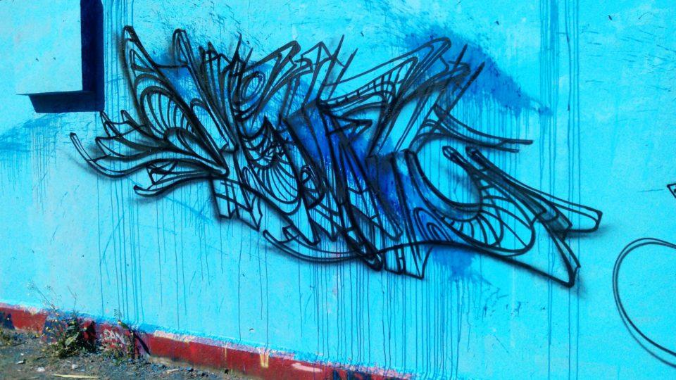 Esquisse de Deft - Graffiti - Clermont-Ferrand  - ENSACF