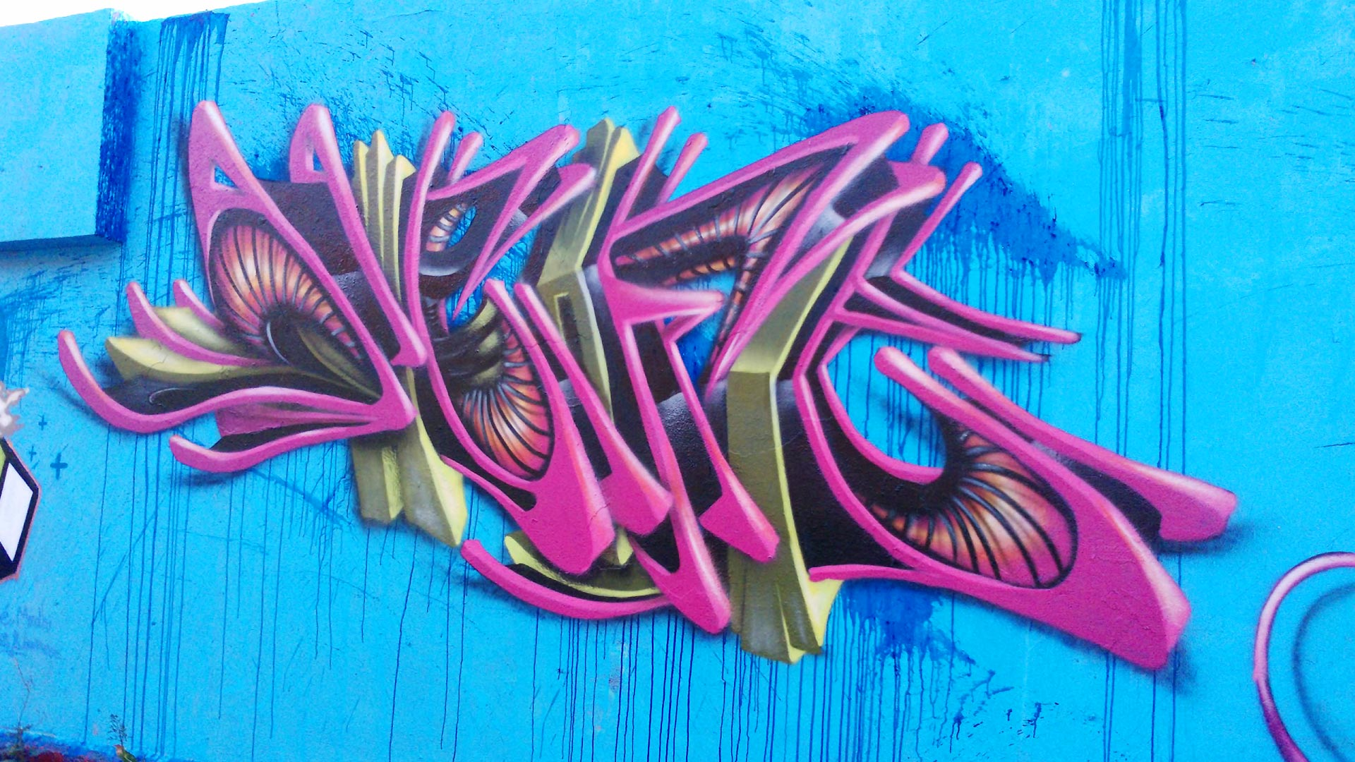Deft - Graffiti - Clermont-Ferrand  - ENSACF