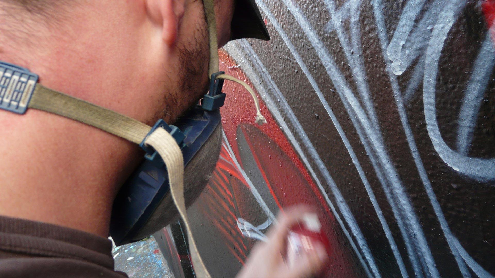 Fresque Mafiosa - Le Parrain - Graffiti