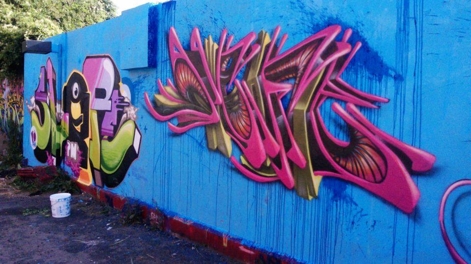 Slop & Deft - Graffiti - Clermont-Ferrand  - ENSACF