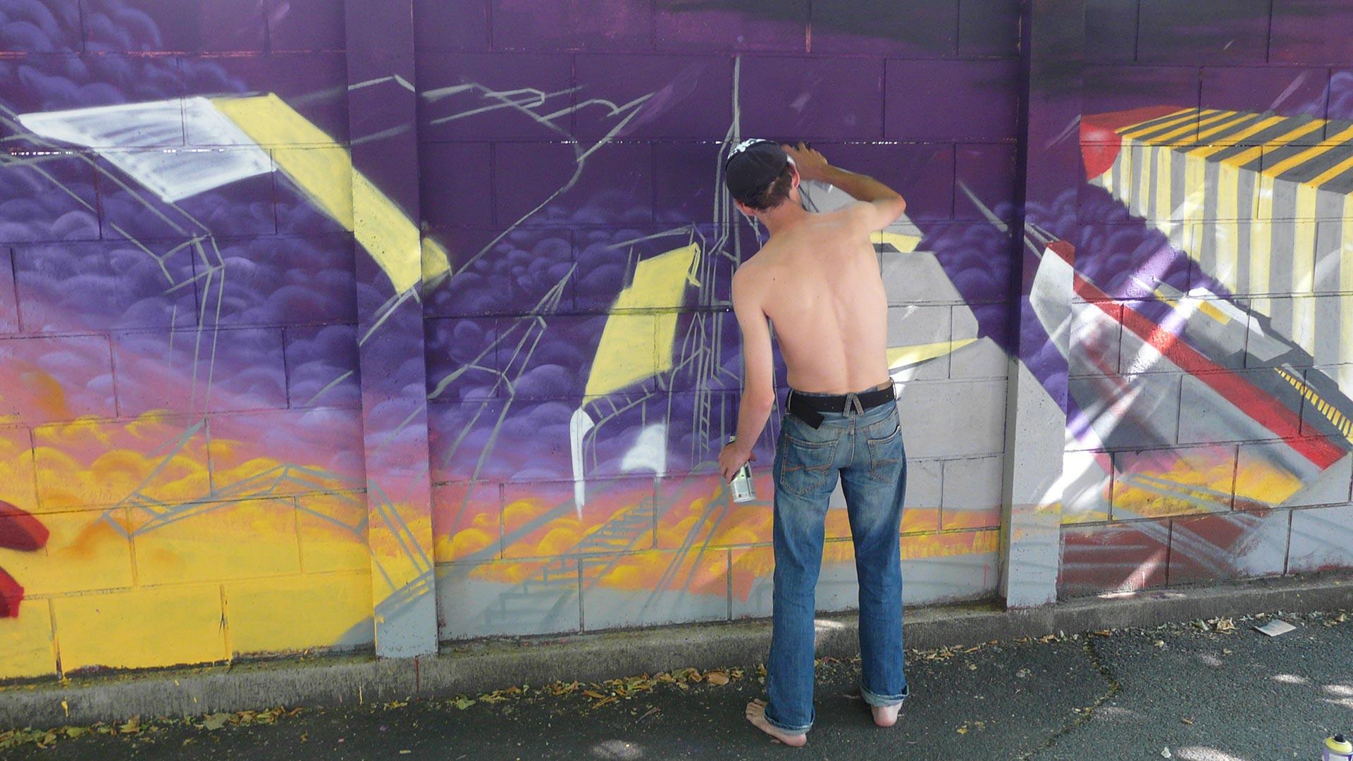 Rino - Trans'Urbaines - Clermont-Ferrand - Street-Art
